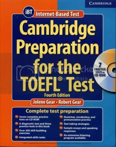 Cambridge Preparation for the TOEFL Test, 4th Edition [CD-ROM]