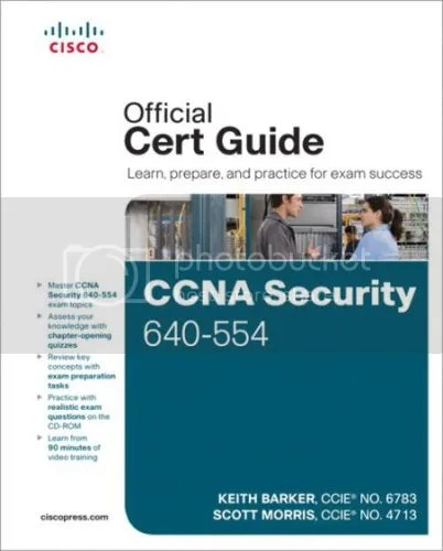 Cisco Press - CCNA Security 640-554 Official Cert Guide Videos