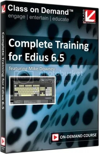 Class On Demand - Complete Training for Edius 6.5