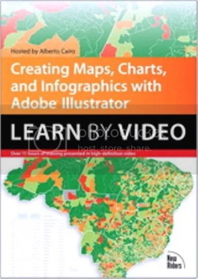 Creative Edge - Creating Maps, Charts and Infographics with Adobe Illustrator (Learn by Video)