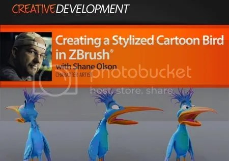 Digital Tutors - Creating a Stylized Cartoon Bird in ZBrush
