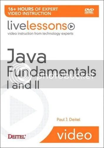 LiveLessons - Java Fundamentals I and II