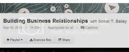 Lynda - Building Business Relationships
