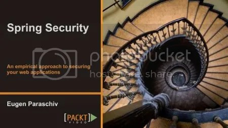 Packtpub - Spring Security