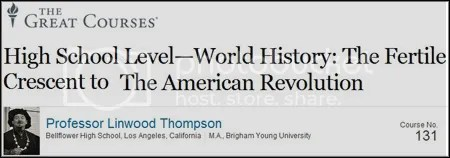 TTC Video - High School Level - World History: The Fertile Crescent to The American Revolution