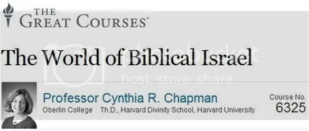 The Great Courses: The World of Biblical Israel Training