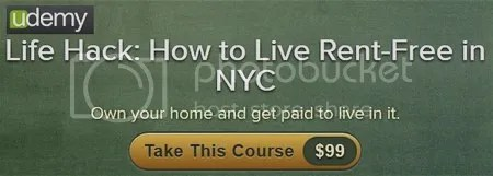 Udemy - Life Hack: How to Live Rent-Free in NYC