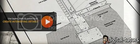 Digital Tutors - Drawing a Wall and Foundation Detail in AutoCAD