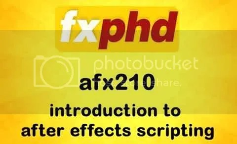 FXPHD - AFX210: Introduction to After Effects Scripting