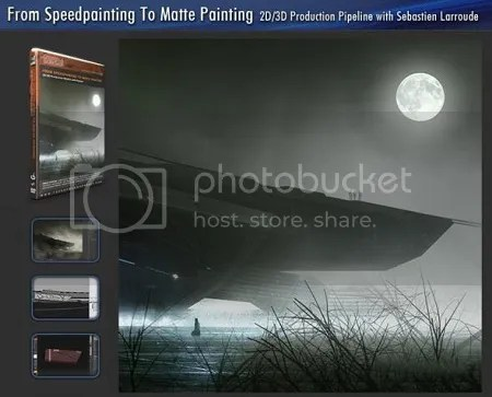 From Speedpainting to Matte Painting 2D/3D Production Pipeline