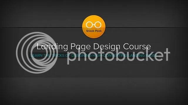 Landing Page Design Course
