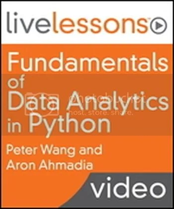 Livelessons - Fundamentals of Data Analytics in Python