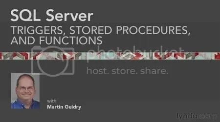 Lynda - SQL Server: Triggers, Stored Procedures, and Functions