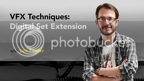 Lynda - VFX Techniques: Digital Set Extension