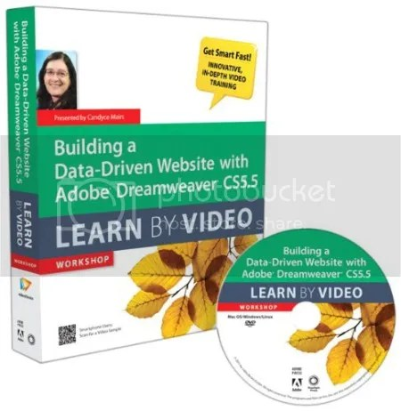 Peachpit Press - Building a Data-Driven Website with Adobe Dreamweaver CS5.5 Learn By Video