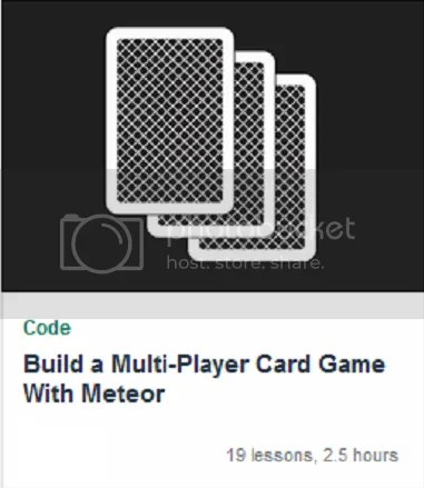 TutsPlus - Build a Multi-Player Card Game With Meteor