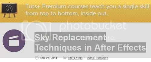 Tuts+ Premium - Sky Replacement Techniques in After Effects