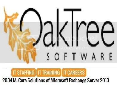 Microsoft Learning – Course 20341A: Core Solutions of Exchange Server 2013