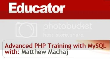 Educator - Intro and Advanced PHP Training