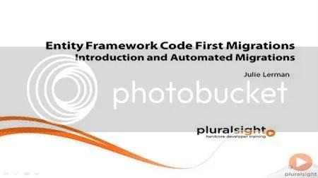 Pluralsight - Entity Framework Code First Migrations