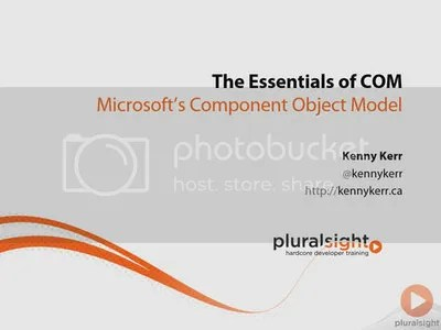 Pluralsight - The Essentials of COM