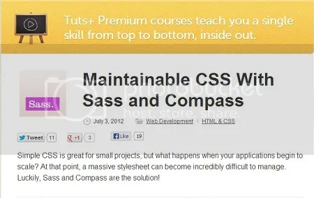 Tuts+ Premium - Maintainable CSS With Sass and Compass