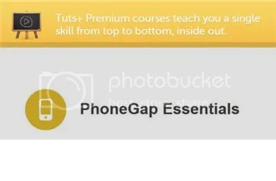 Tutsplus – PhoneGap Essentials