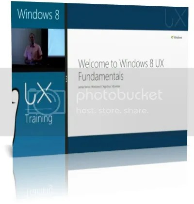 Windows 8 UX Fundamentals Training Workshop 2012