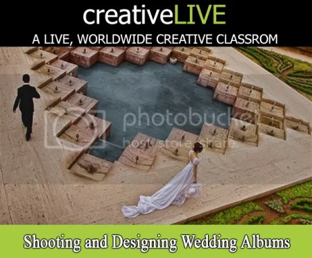 creativeLIVE – Shooting and Designing Wedding Albums