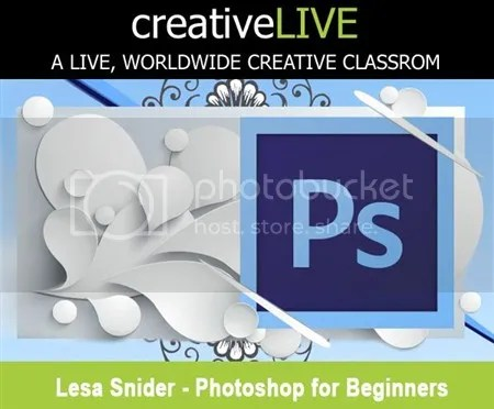 creativeLIVE – Photoshop for Beginners with Lesa Snider