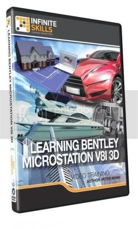 InfiniteSkills - Learning Bentley MicroStation V8i 3D Training