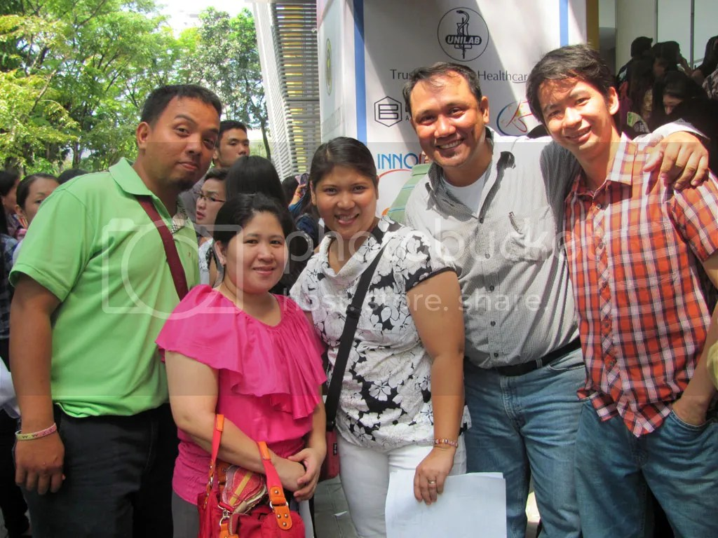 Mr. Joeart, Ms. Haidee, Ms. Bheng, Mr. Norman and his friend