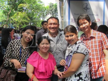 Me, Ms. Haidee, Mr. Norman, Ms. Bheng, Mr. Norman's friend
