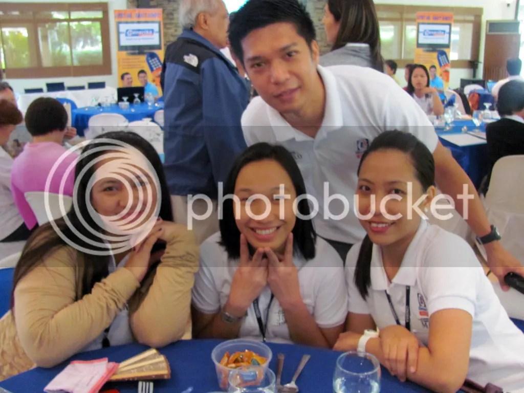 My officemates: Annie, Joy, Mau, and Pau