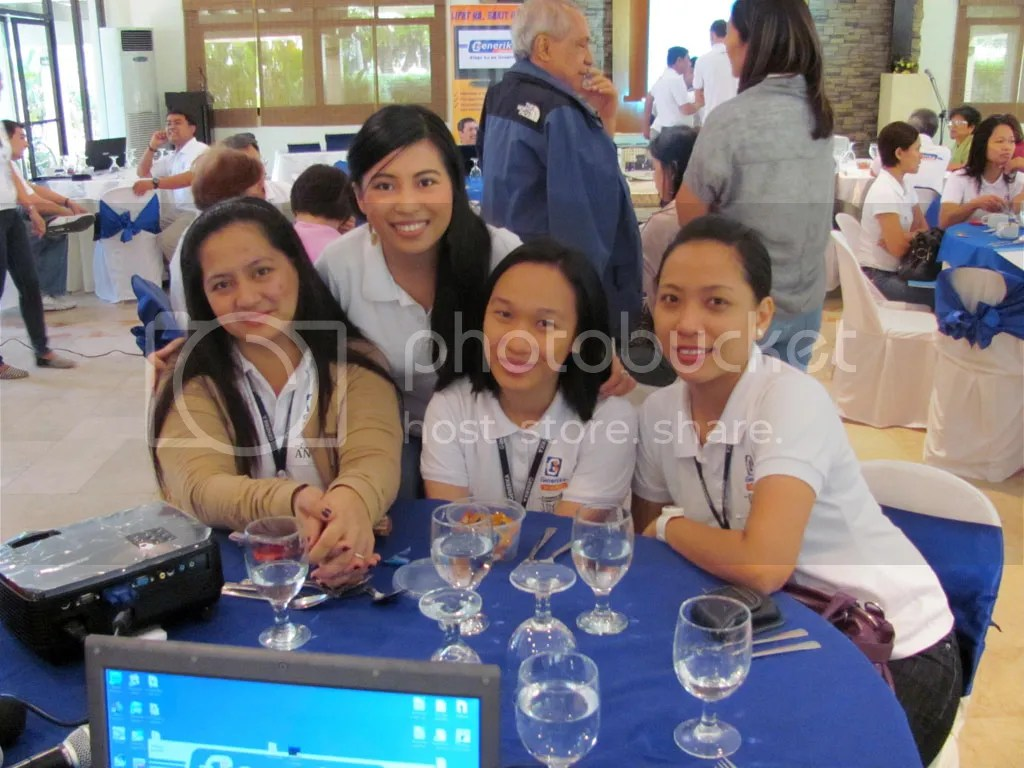 With my office mates: Annie, Joy, and Mau