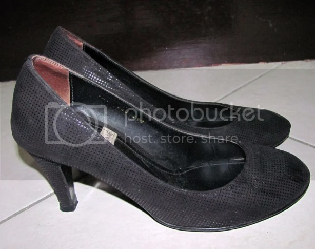 Black Pumps bought for P135