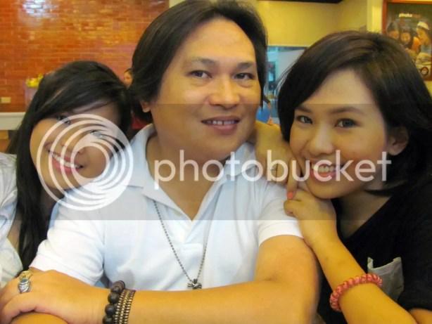 Trisha, Papa, and Mariah