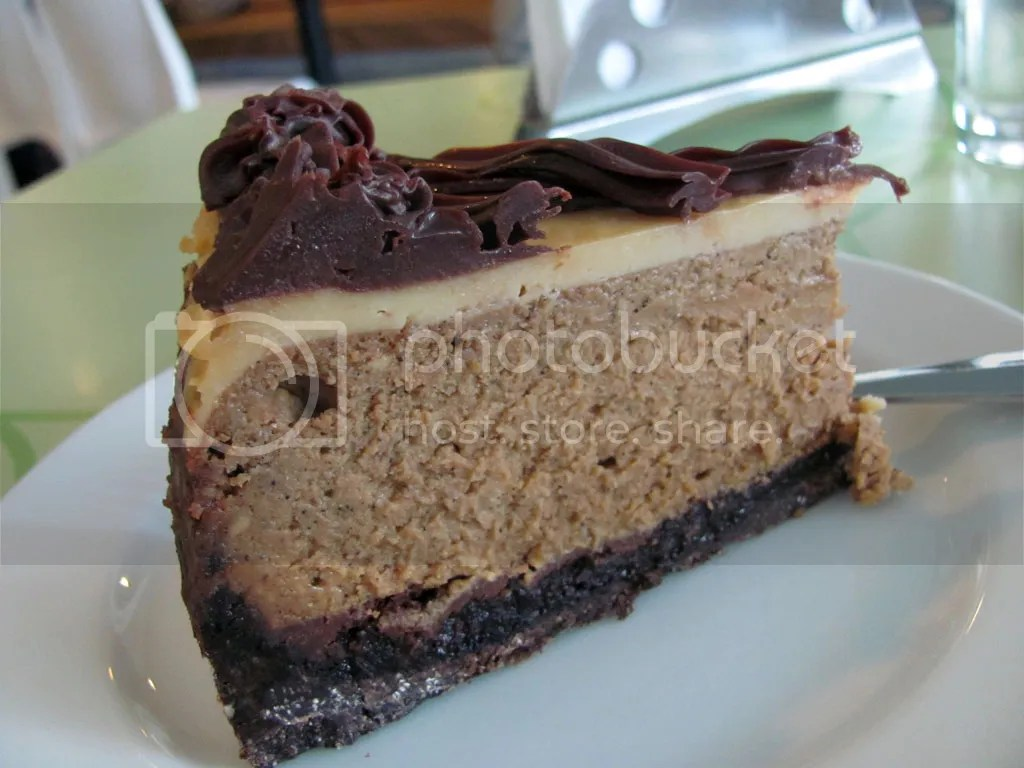 Coffee Fudge Cheesecake