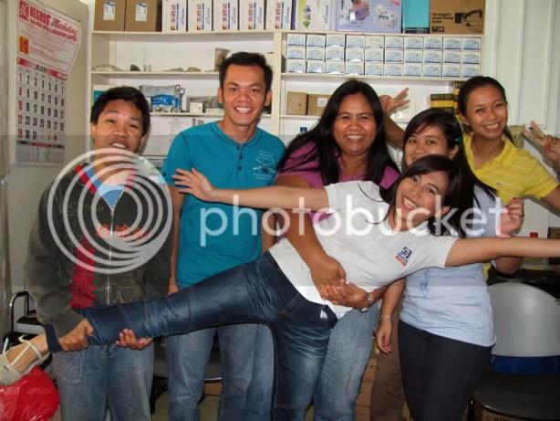 Wacky Shot with Libertad Bacolod Trainees