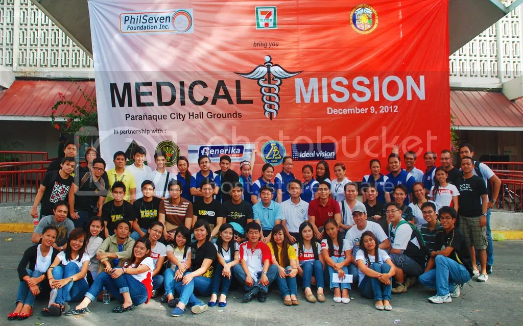 PhilSeven Foundation with Generika Drugstore, Zeta Beta Mu Fraternity, and Mu Sigma Phi Fraternity