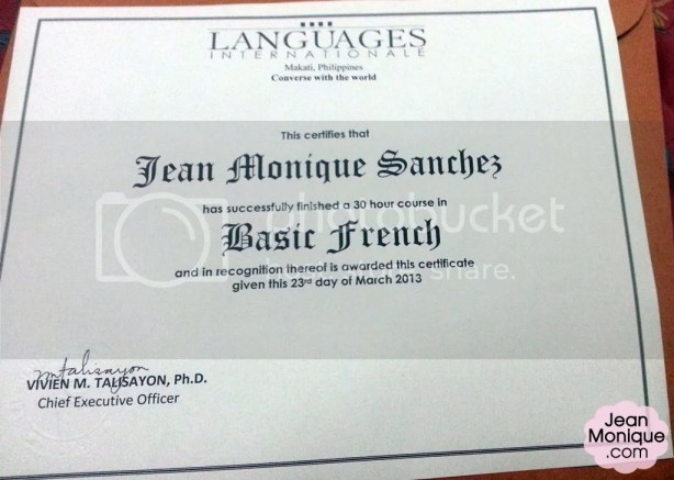 Languages Internationale Certificate - 30 hours Basic French