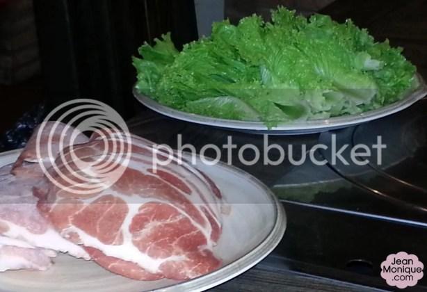 Pork Strips with Lettuce