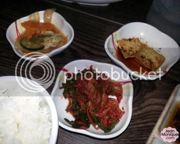 Vegetables, Kimchi, Tofu