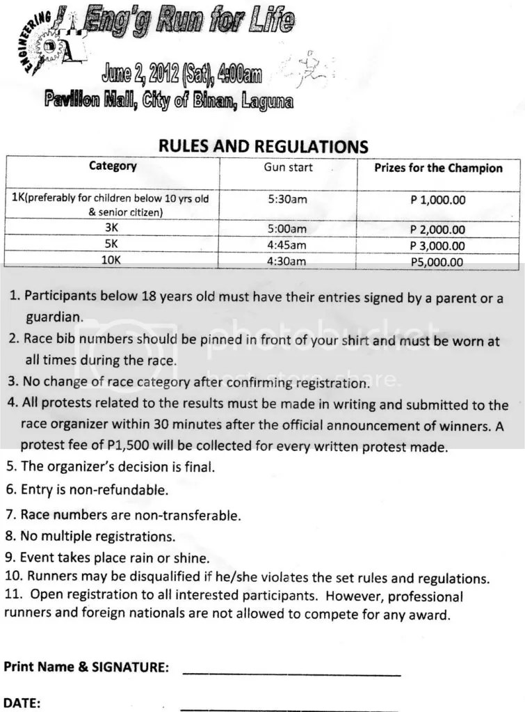 Rules and Regulations (click image to zoom)