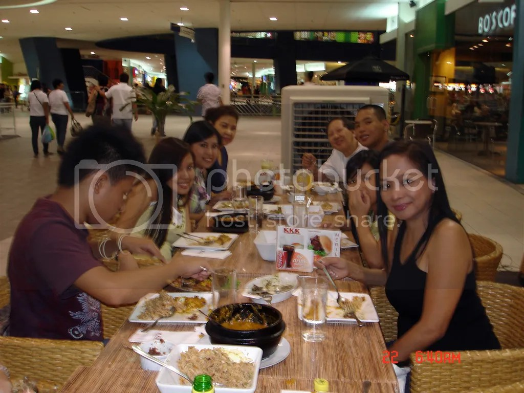 Graduation Dinner at KKK, SM Mall of Asia