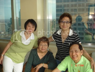 With Sisters during Birthday Party at Easton Place