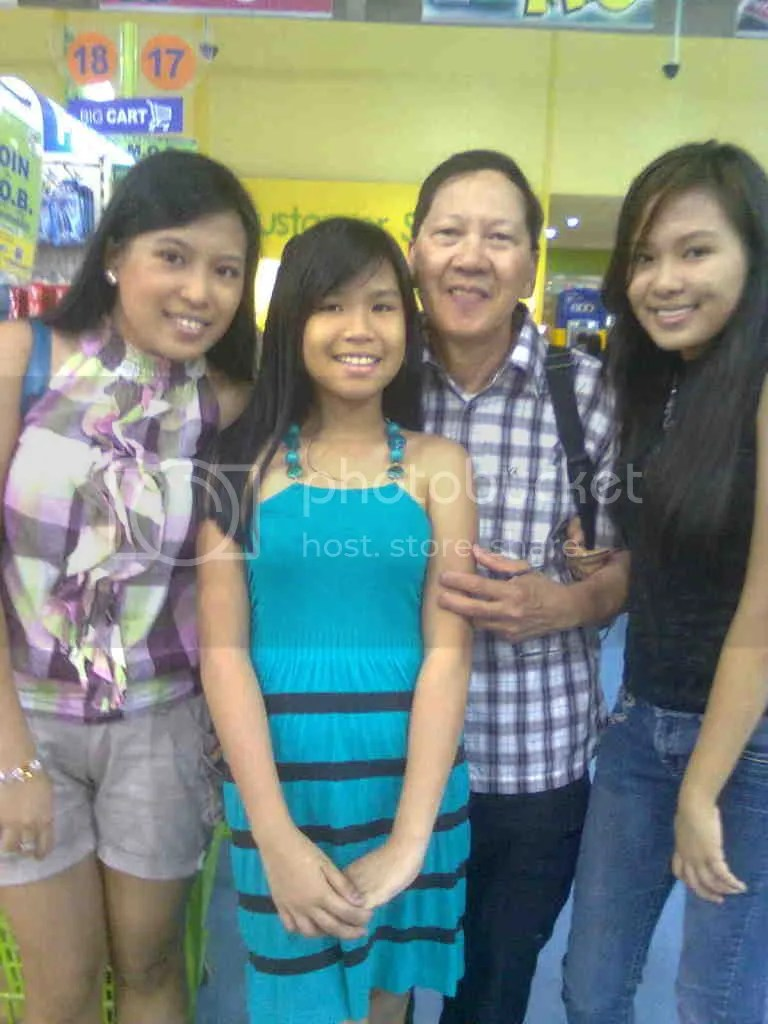 With Sanchez Girls at SM Sucat