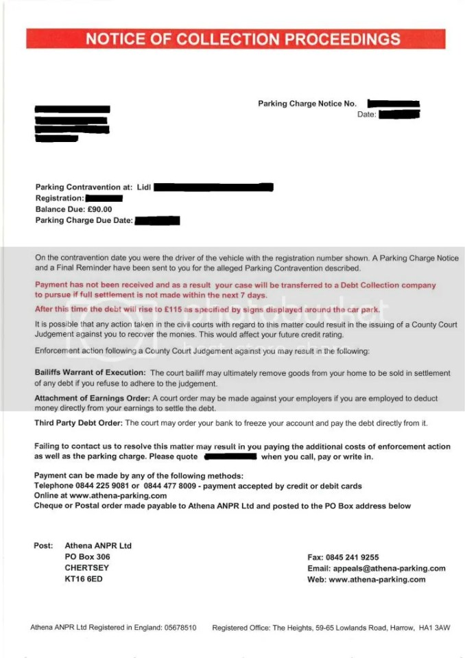 Debt collection letter template uk newsinvitation it s a standard computerised template threatogram ignore spiritdancerdesigns Choice Image