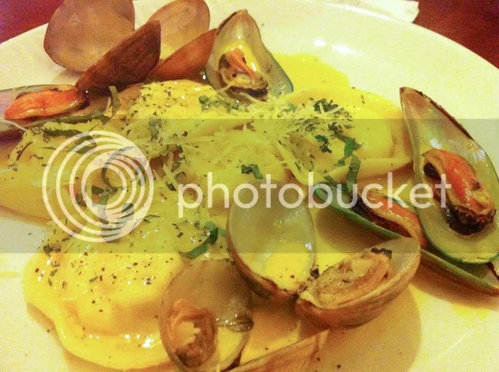 Blackwood Seafood Ravioli