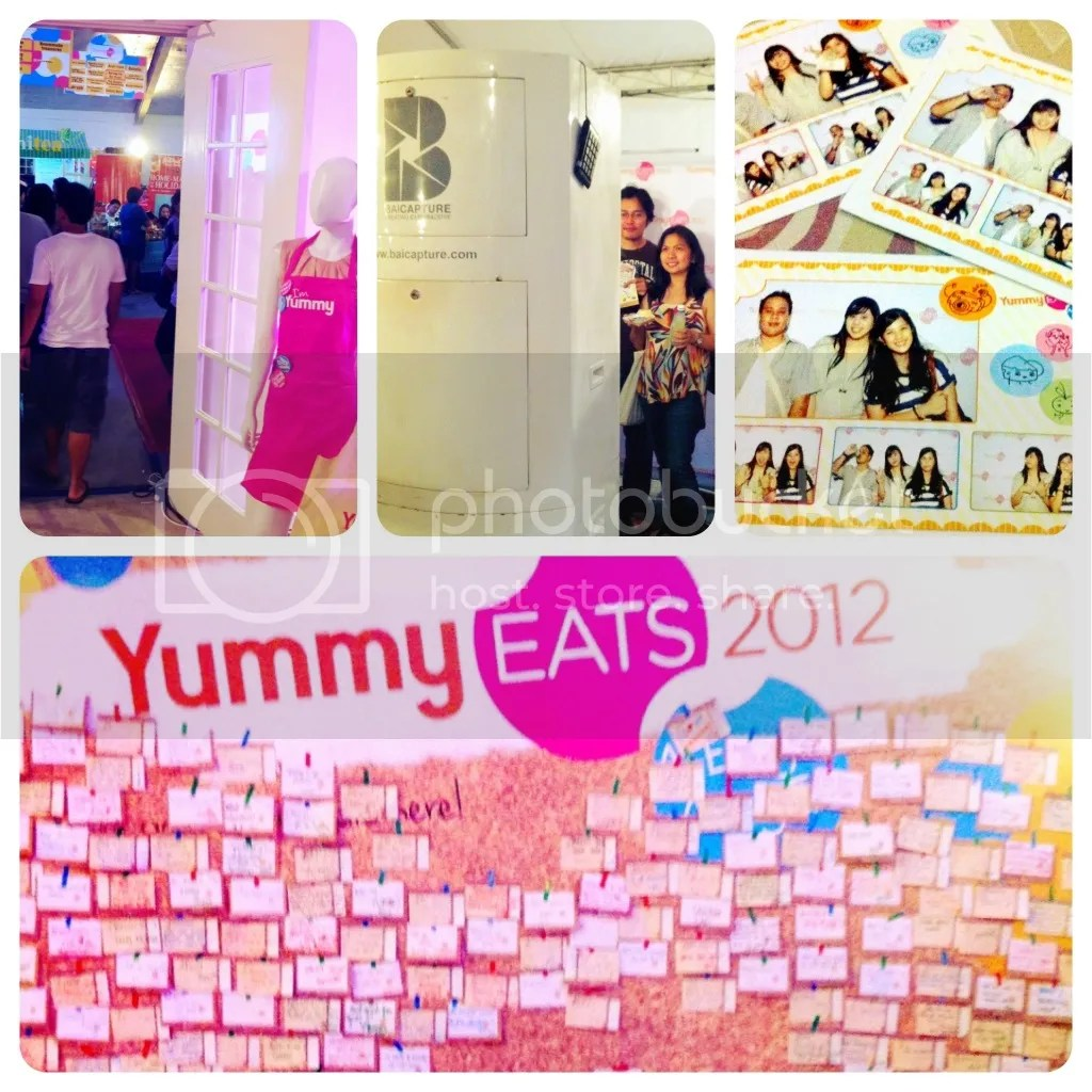 Photobooth and Freedom Wall at Yummy Eats 2012